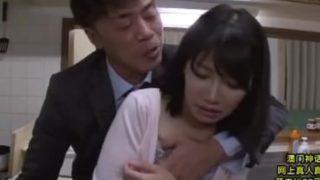 une asiatique baise avec le patron de son mari